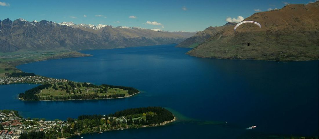 queens town Queenstown Diving Traveling Mountain View Lake View Snowmountains Newzealand Enjoying Life Amazing View