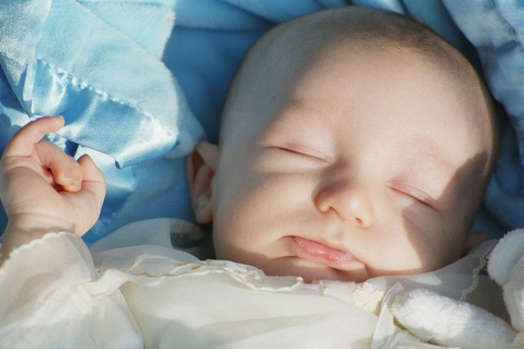 Infant Baby Beautiful Childhood Close-up Cute Front View Happiness Innocence Love New Born Portrait Real People