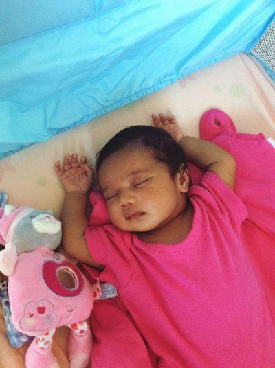 Sleeping Baby  ❤️Lonisa Laïa Rosemay Kokes Marguerite❤️ Taking Photos Lovely Baby Girl ❤️❤️❤️