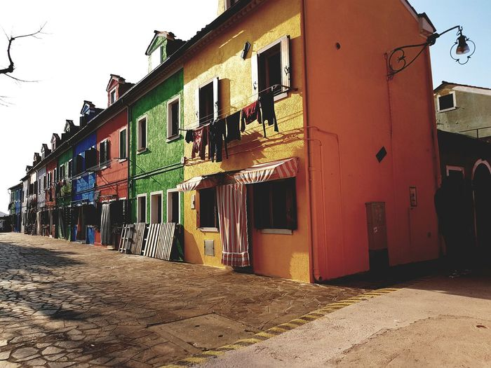 Burano, Italia Architecture Built Structure Building Exterior Tranquility Tranquil Scene Lifestyles