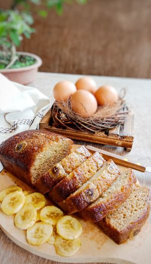 banana moist cake Moist Nice Sweet Food Fotofon Egg Close-up Food And Drink Prepared Food