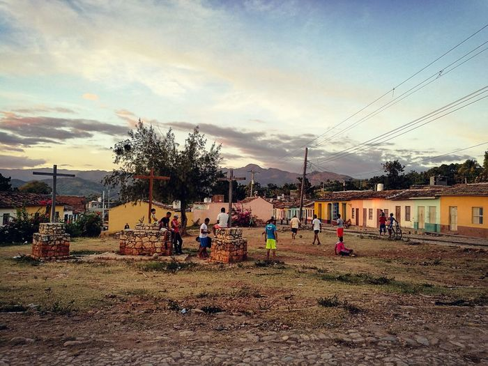 Large Group Of People Sunset Playing Sky Leisure Activity Outdoors Lifestyles Sport People Real People Day Trinidad Trinidad, Cuba Cuba Cuban Life Cuban Style Cuban People Togheter Trinidad Cuba Happy Tourism Destination Miles Away EyeEmNewHere The Street Photographer - 2017 EyeEm Awards Neighborhood Map