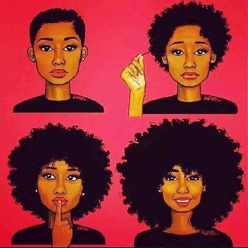 O cabelo natural não é uma moda mas sim um estilo de vida e para mim é uma redescoberta de quem sou e como sou. My Life Natural Girl Proud_to_be_me Eu_♥_minha_almofadinha my_things
