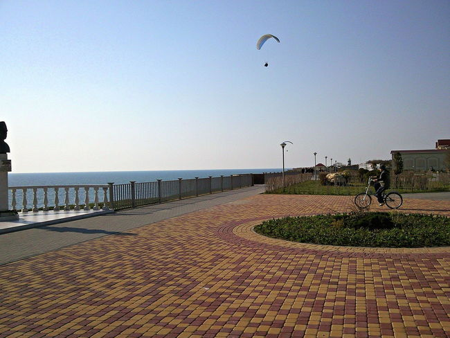 Anapa Bicycle Bike Day Footpath Outdoors Pavement Paving Stone Quay Sea Seafront Serene Serenity Shore Spring Street Sunny Sunny Day Town Tranquil Day Tranquil Days Tranquil Live Tranquil Scene Walkpath The Street Photographer - 2016 EyeEm Awards