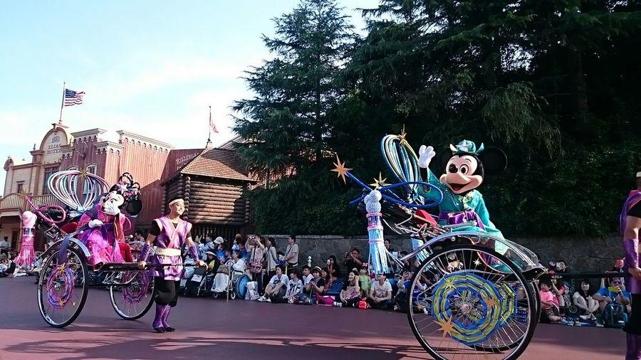 今だけ限定、七夕パレードo(^o^)o Hello World Tokyo Disney Land Parade ~カメログまたここで~ Japan EyeEm Best Shots Photography Festival Disney Disneyland