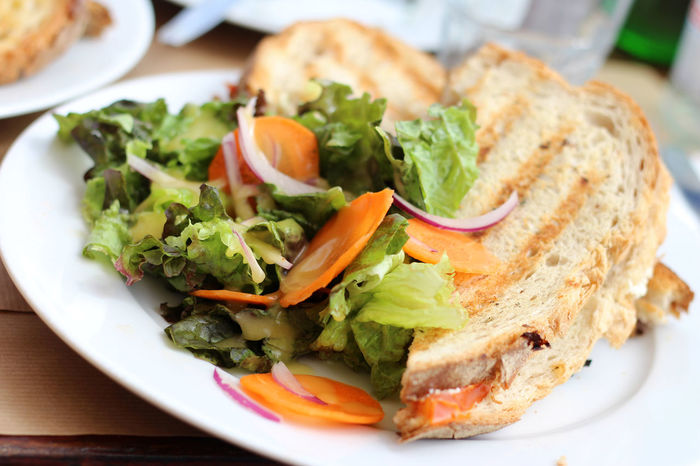 Oh so healthy Carrots Healthy Food Salad Summerfood Toastbread Vegetarian Food