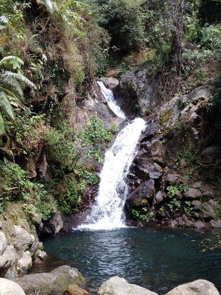 Waterfall river Nature No People Beauty In Nature DELTA API Rumahalir NTB