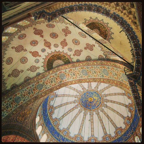 TurkeyIstanbul ARCHITECT Great Mosque Sultanahmed 16centry