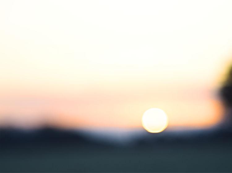 Art Work by khbrudke Colour Your Horizn Sunrise EyeEm ArtCreative Sonnenaufgang Sonnenaufgang🌇 Astronomy Beauty In Nature Clear Sky Eyeem Art Lover Moon Nature No People Outdoors Scenics Sky Sun Tranquil Scene Tranquility