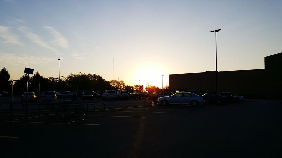 Sunrise Kentucky  Early Morning New Day Hope Blue Sky Bright Sky Parking Lot No People