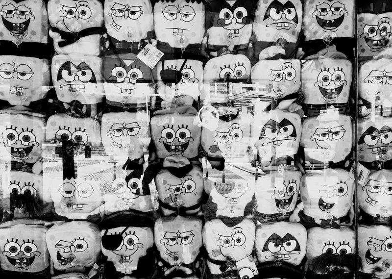 Black And White Friday Spongebob