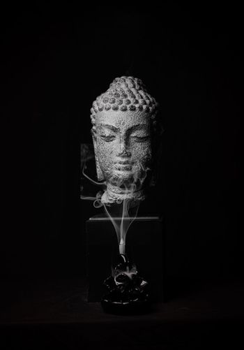 Smokin' Budda China Photos Black Background Budda Budda Statue Buddah Image Insence#sticks#smell#color#bright Meditate To A Different State Meditate, Contemplate, Think, Consider, Ponder, Muse, Reflect, Deliberate Smoke Weed Statues And Monuments Templephotography Zen-like