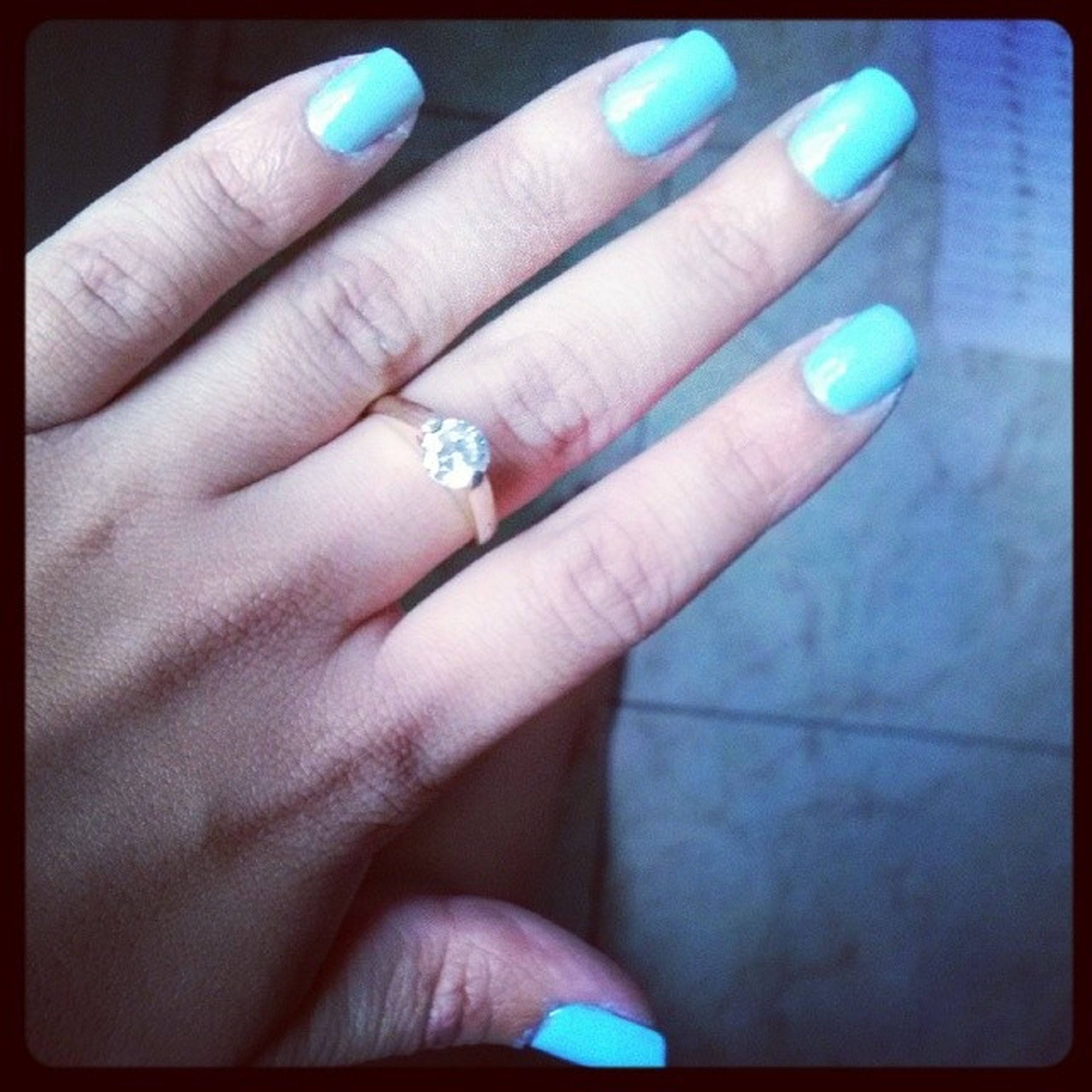 person, part of, human finger, cropped, holding, close-up, personal perspective, unrecognizable person, nail polish, auto post production filter, transfer print, indoors, showing, ring, lifestyles, palm