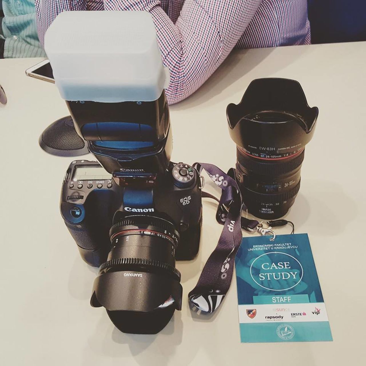 still life, table, camera - photographic equipment, indoors, no people, photography themes, close-up, technology, day
