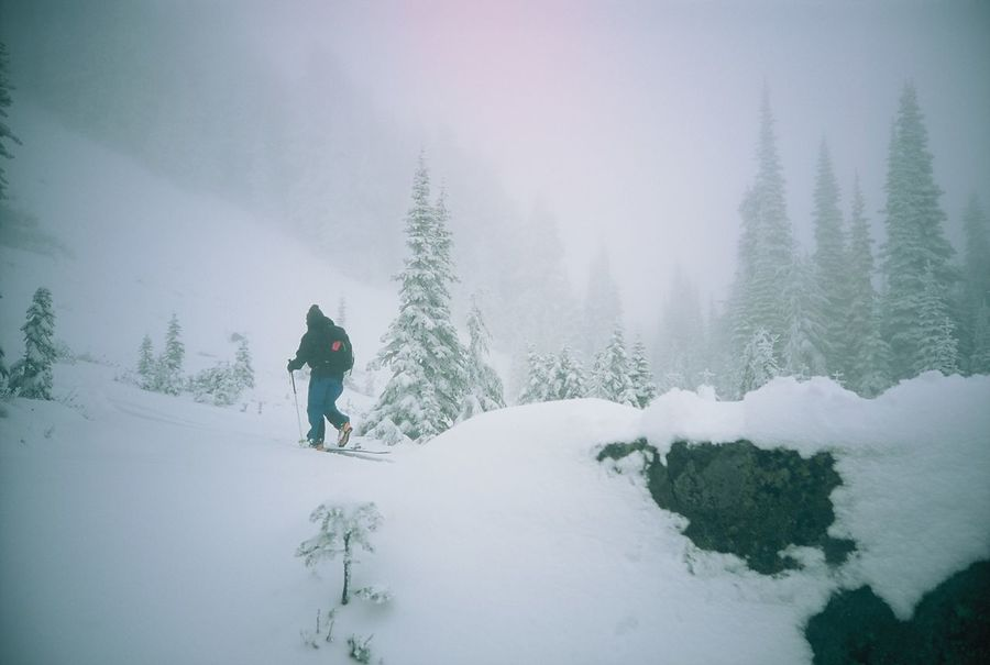 Cold Temperature Day Film Photography Men Miles Away Mt. Rainier Nature Outdoors ParadisePark People Real People Seattle Seattle, Washington Snow Snowing Winter