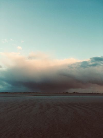 Sky Scenics - Nature Cloud - Sky Tranquility Tranquil Scene Beauty In Nature Land Salt Flat Idyllic Dusk Horizon Over Water Horizon No People Beach Water Sea Nature Sunset Landscape Outdoors