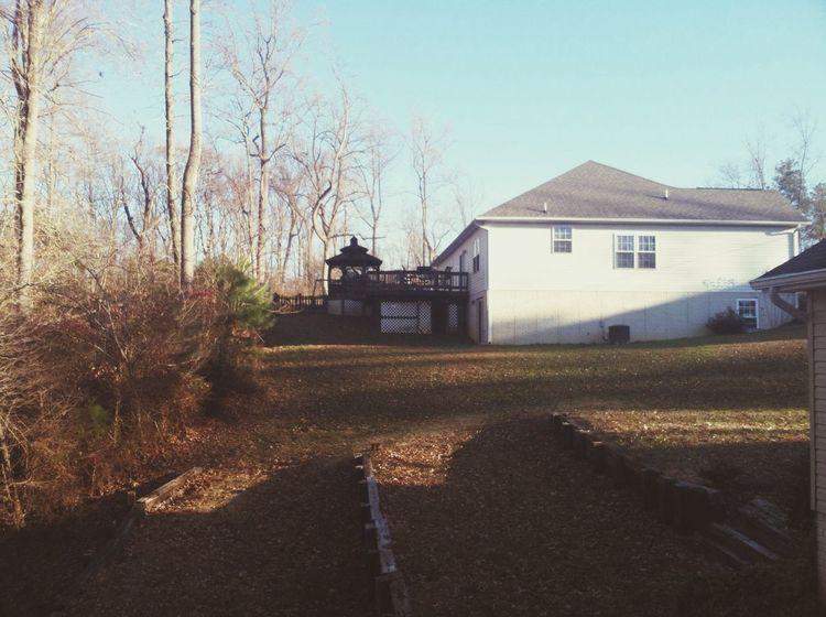 The back of my house.. Thought it was beautiful. ? Hanging Out