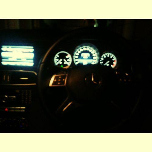 This beauty. Sportscar Driving Around Mercedesbenz