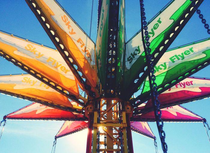 Phoenix Arizona Azstatefair Arizona State Fair Amusementpark Ride Swings