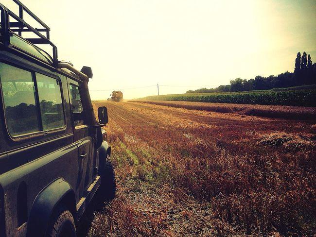 Summer2016 August Landrover  Defender90 Farming Farming Vehicles Farming Life Field