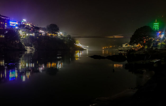 For me, no place is better than Rishikesh LaxmanJhula Nature Architecture Building Exterior Built Structure City Cityscape Ganges Illuminated Nature Night Nopeople Outdoors Real People Reflection Rishikesh Sky Tree Water First Eyeem Photo