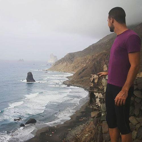 Despertar de la siesta con ganas 100% de naturaleza Benijo Tenerifelicidad Sport Senderismo
