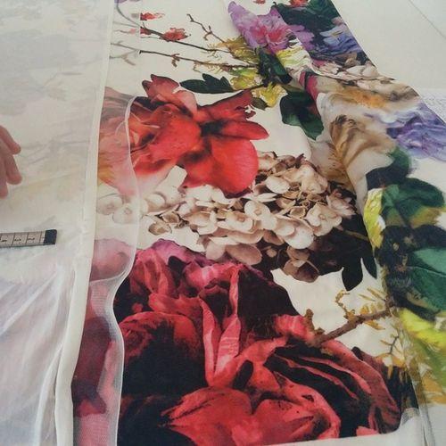 No Filter needed Flowers Summer Love LoveForFashion fabric fashiondesign drenushaxharra