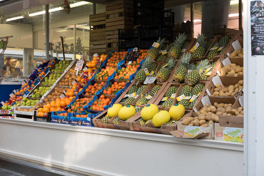 Colore Food Food And Drink Freshness Fruit Market Mercato Multi Colored Supermarket Verdura Food Stories