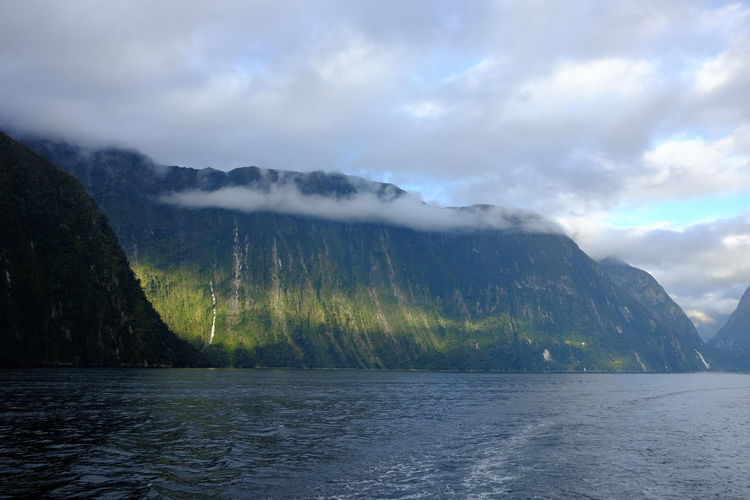Autumn Fiordland National Park Scenic Sterling Te Anau Travel Beauty In Nature Beauty In Nature Cloud - Sky Cruise Environment Fall Fiord Majestic Must Do  Nature New Zealand No People Ocean Outdoors Scenics - Nature South Island Tourism Travel Destinations Waterfall