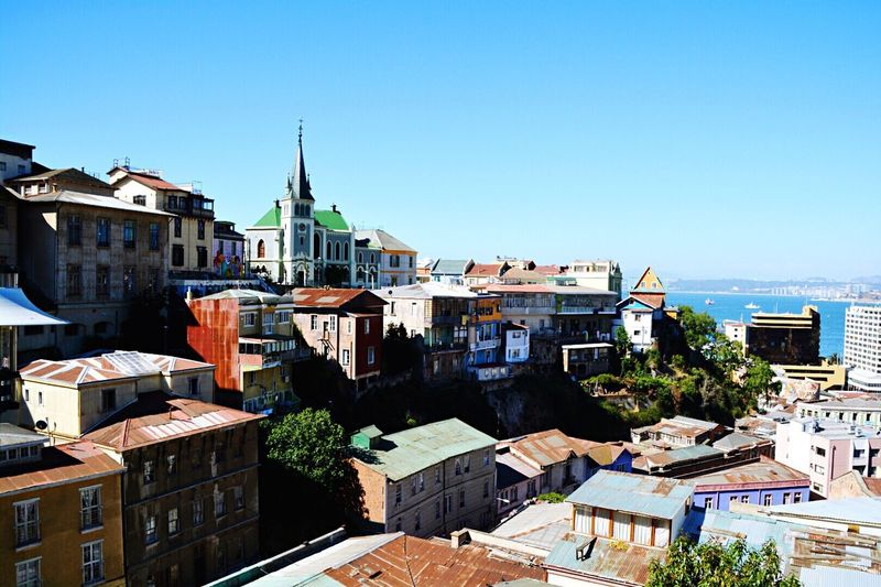 Valparaíso view Chile City Streetart