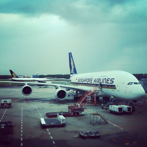 Singapore Airlines Airbus A380 Airport Runway Singapore Airplanes Flight Travel Lifestyle Jetsetter Airbus SQ Changiairport
