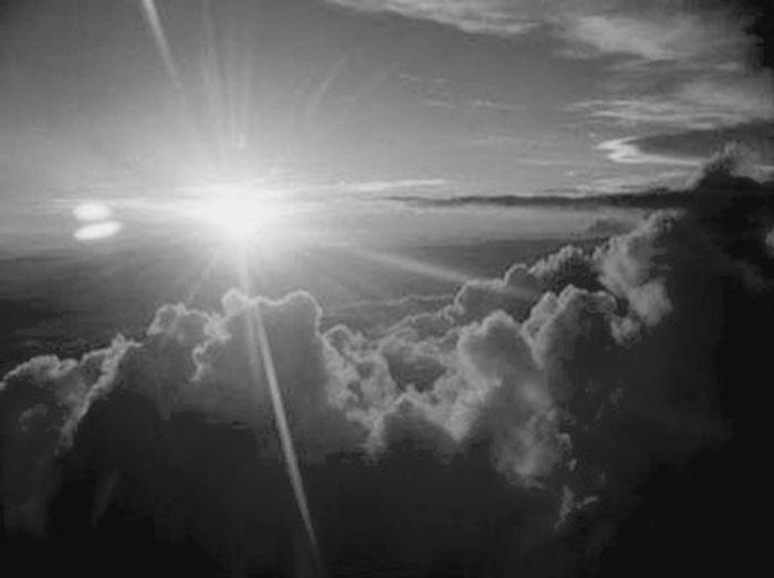 Hello World Hi! Blackandwhite Sky Collection Sky OpenEdit Sun