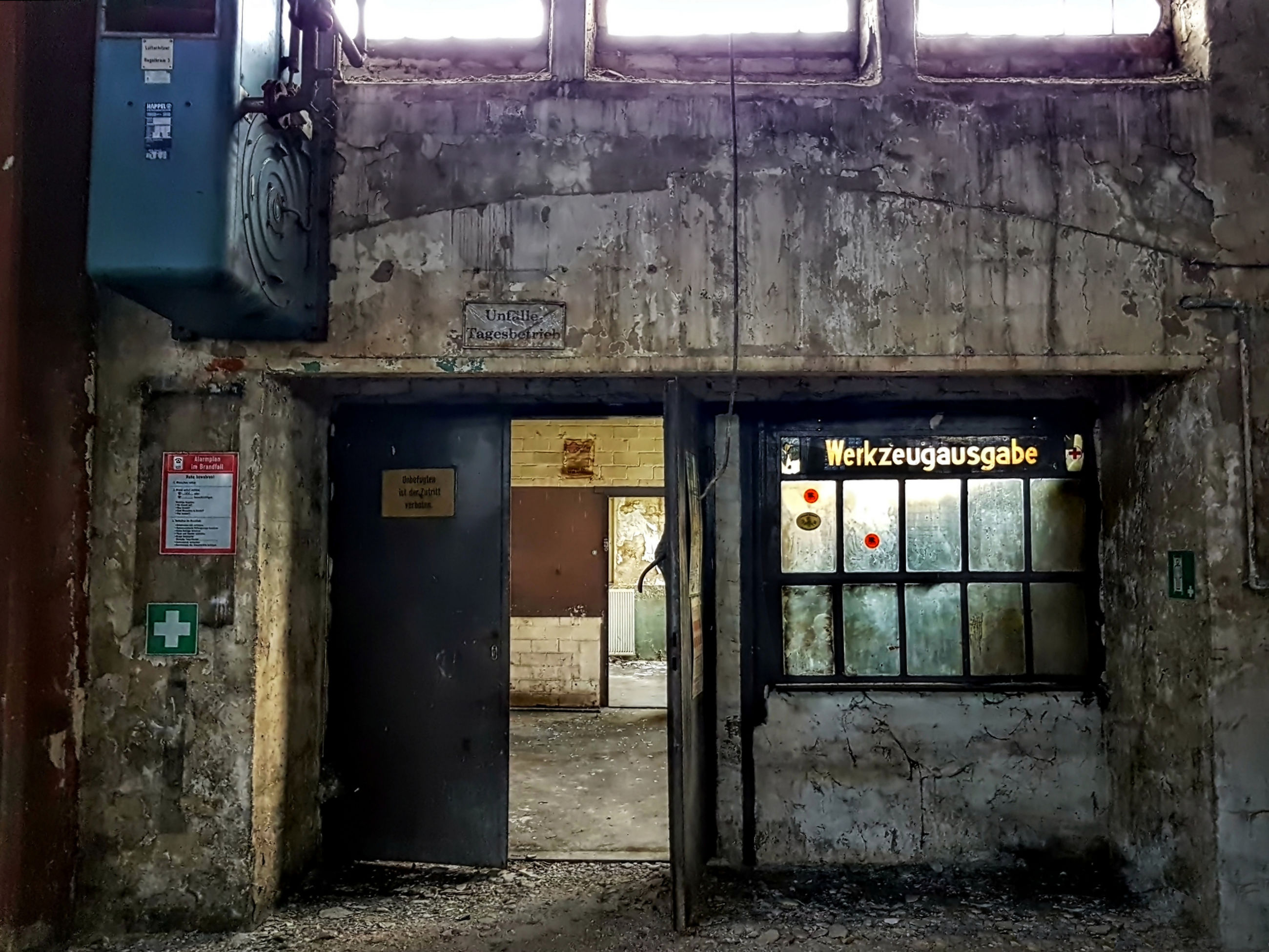 abandoned, architecture, entrance, door, old, built structure, weathered, building, no people, damaged, obsolete, deterioration, decline, day, run-down, building exterior, bad condition, outdoors, window, ruined