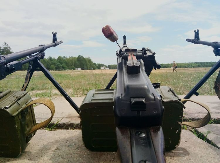 Military Weapon War Gun Cannon Air Vehicle Cloud - Sky History Transportation Aerospace Industry Day Army No People Outdoors Sky Scientific Experiment Oil Pump Weapons Of War Army Life
