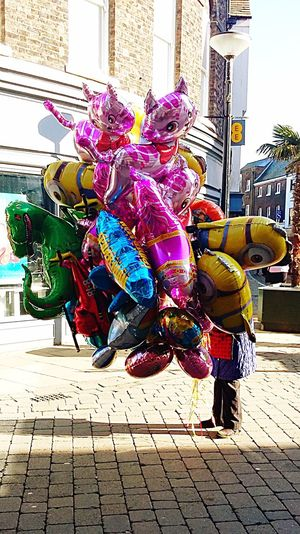 Balloons Mart King's Lynn Town Balloon Seller Characters Funfair