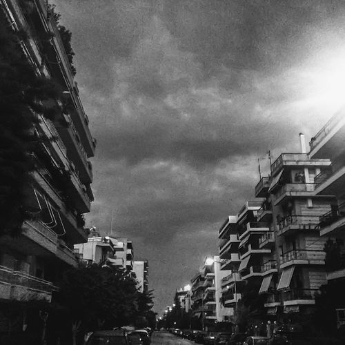 Moody Apartment Architecture Building Building Exterior Built Structure City City Life City Street Cityscape Cloud Cloud - Sky Cloudy Day Development Illuminated Low Angle View Nature No People Outdoors Overcast Residential Building Residential District Residential Structure Sky Weather