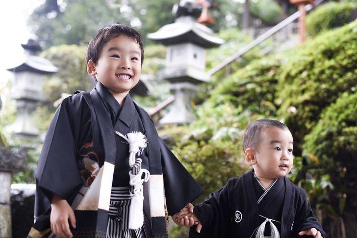今さらながら長男の七五三の時の写真。次男のは赤ちゃんホンポで見つけたなんちゃって袴です。笑 Japan Kids Being Kids Living Life Snapshots Of Life