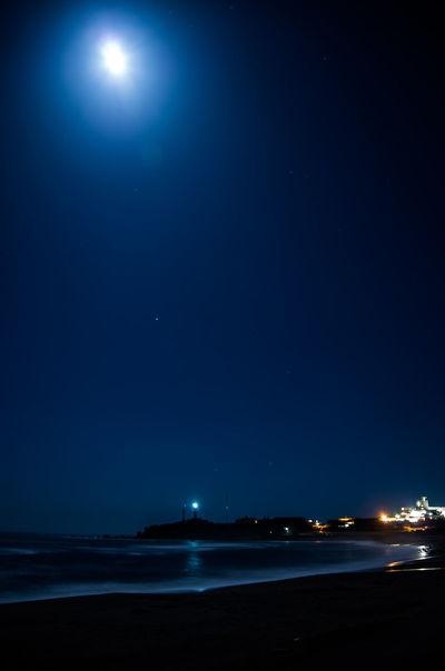 EyeEm Best Edits Moonlight 月明かり Sea_collection 肌寒くなりましたね(^^;