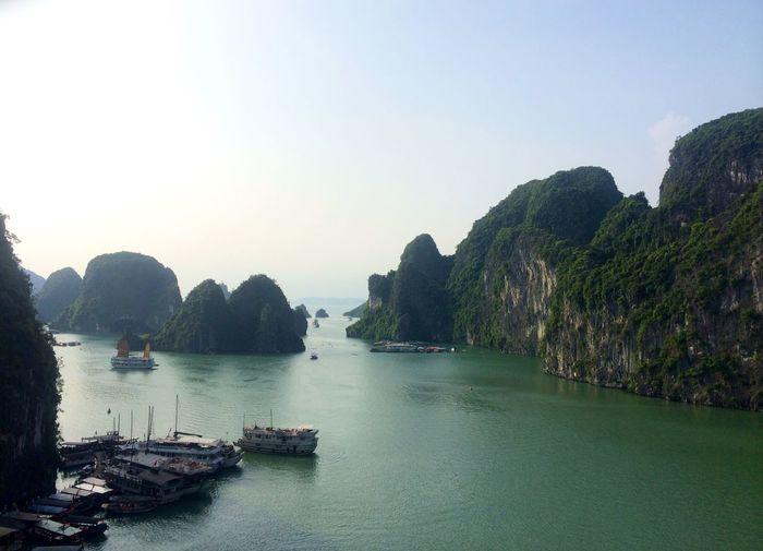 Ha long bay, vietnam Halongbay Vietnam Landscape Halong Ha Long Bay Bay Ocean Mountains Sea Sea And Mountain Sea And Rocks