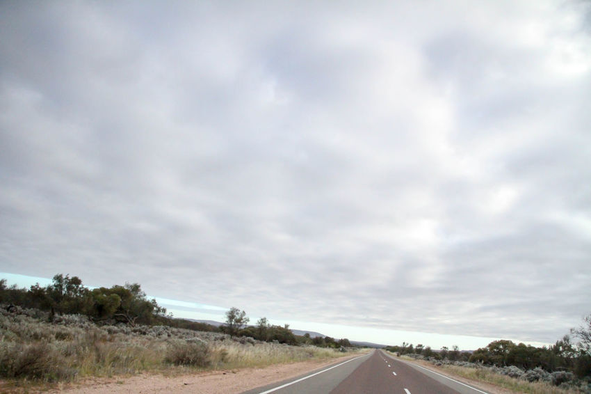 Nullarbor Plain Nullarbor Nullarbor Plain Road Transportation Sky Cloud - Sky Direction The Way Forward Landscape Day Environment No People Nature Country Land Non-urban Scene Beauty In Nature Country Road Scenics - Nature Tranquility
