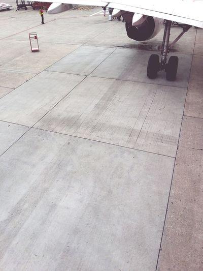 Tilt image of paving stone
