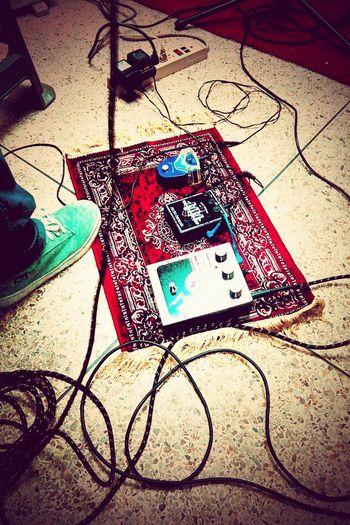 Music Is My Life Listening To Music Marshall BigMuff Metalmusic Improvisation Myband Lifestyle Guitar Pedals Live Music