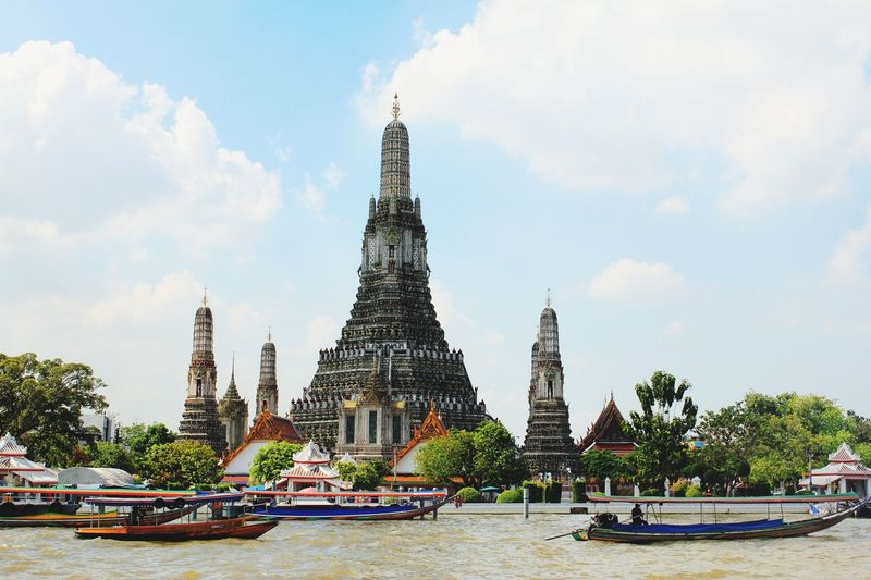 Thailand River Cruise River View Riverside Bangkok Thai Water Watertaxi Battle Of The Cities Day Discover Your City