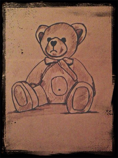 Drawing My Drawing Pencil Bruin