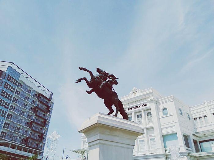 Stunt City Statue Sculpture Skill  Sky Architecture