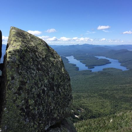 Lake Placid Adirondack Mountains Mountain View Whiteface Nature Scenics Tranquility Beauty In Nature Tranquil Scene Sky No People Mountain Outdoors Idyllic Landscape Growth Cloud - Sky Sea Day Tree Water