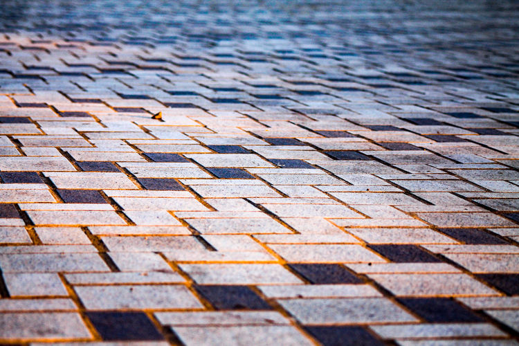 Full frame shot of a pavement