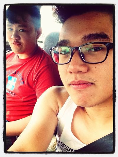 Going to Island Sapi with this Dumbass. Anyway we are happy!