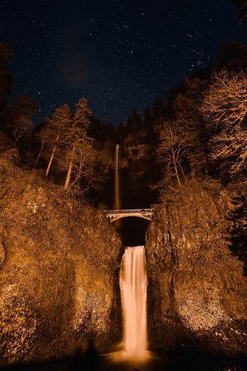 Multnomah Multnomah Falls  Waterfall Oregon Pacificnorthwest Photo Photooftheday Photography Nikon D7100