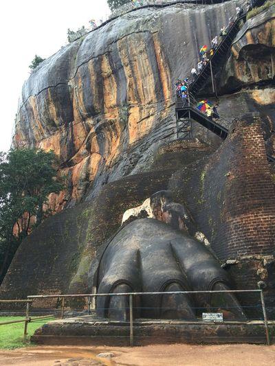 Fortress Sigiriya Sigiriya Rock Sri Lanka Sri Lanka Travel Travel Destinations Wall Paintings